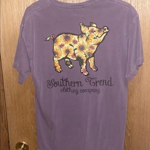 Comfort colors, southern trend tee